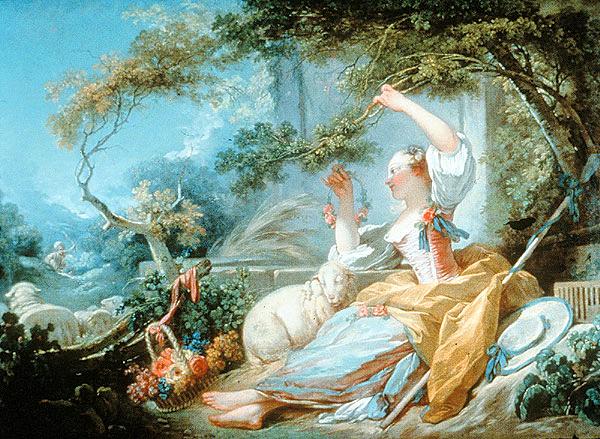 The Shepherdess, c.1750 - 1752 - Jean-Honore Fragonard