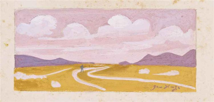 L'homme du désert, 1972 - Jean Hugo