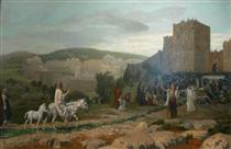 Entry of the Christ in Jerusalem - Jean-Léon Gérôme