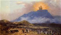 Moses on Mount Sinai - Jean-Léon Gérôme