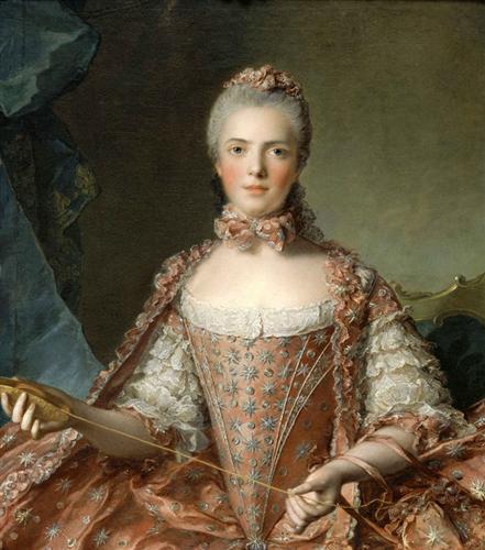 Madame Adélaïde de France Tying Knots - Jean-Marc Nattier