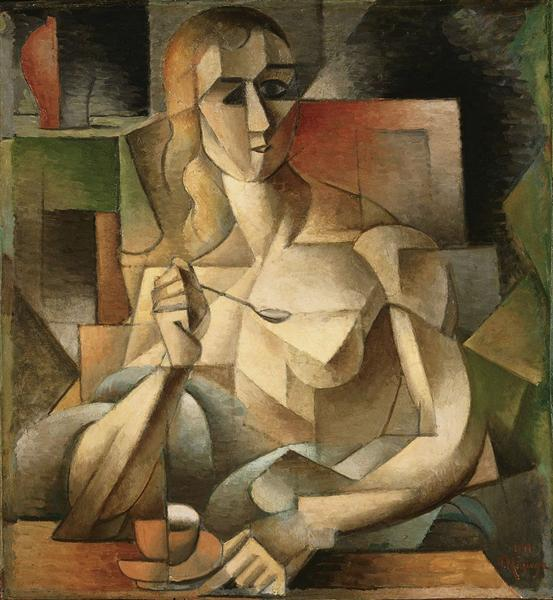 Le goûter (Tea Time), 1911 - Jean Metzinger