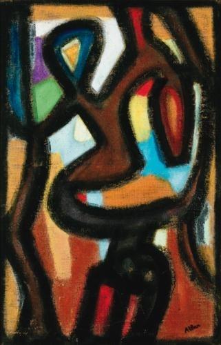 Untitled, 1959 - Jean-Michel Atlan