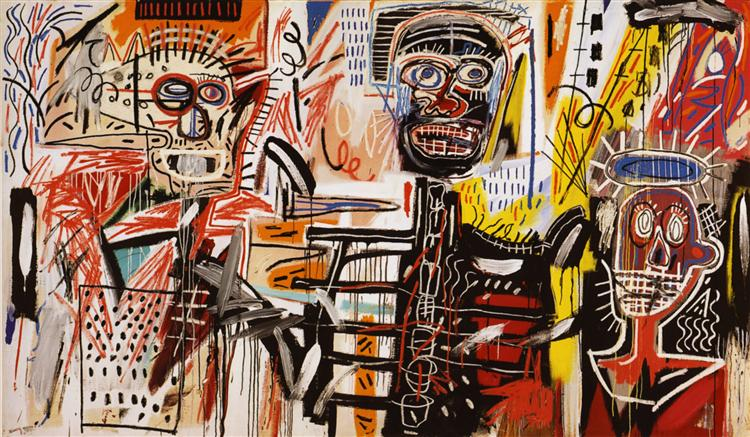 Philistines, 1982 - Jean-Michel Basquiat
