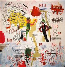 Riddle Me This, Batman - Jean-Michel Basquiat