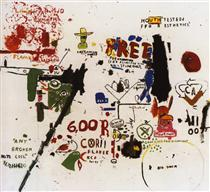 To Be Titled - Jean-Michel Basquiat