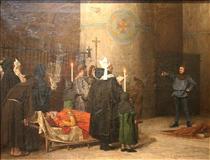 Les funérailles de Guillaume le Conquérant - Jean-Paul Laurens