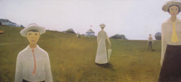 Été, 1914 - Jean Paul Lemieux