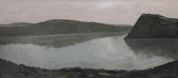 Untitled (River View), 1956 - Jean Paul Lemieux