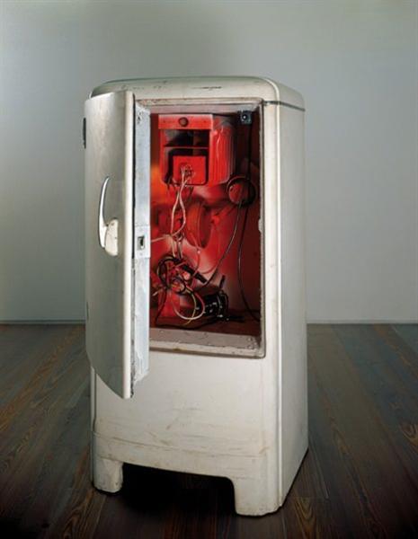 Frigo Duchamp, 1960 - Jean Tinguely