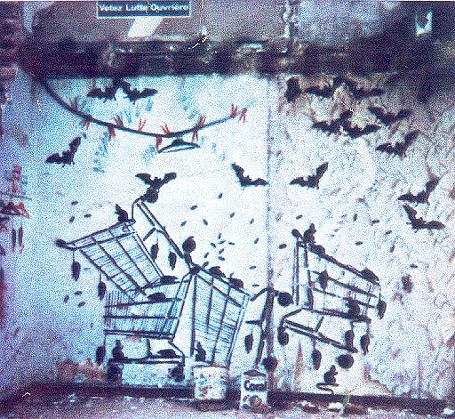 Bourges, 1983 - Jef Aerosol
