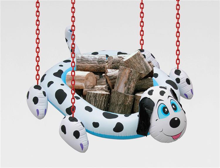 Dogpool Logs - Jeff Koons