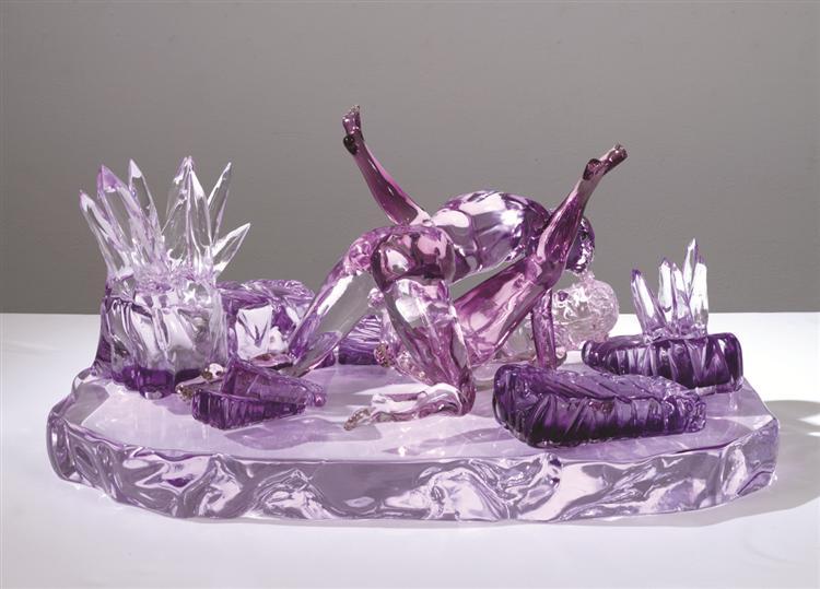 Violet Ice (Kama Sutra) - Jeff Koons