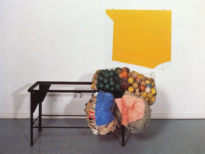 Untitled, 1990 - Jessica Stockholder