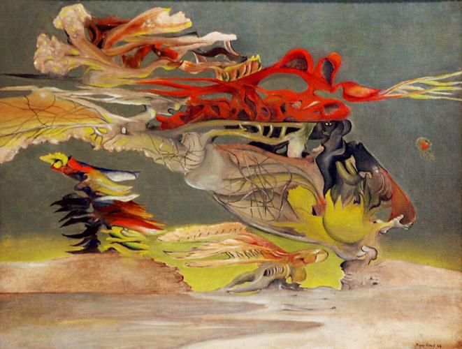 Paysage, 1942 - Jimmy Ernst