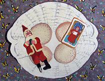 Plate of Christmas Cookies - Joan Brown