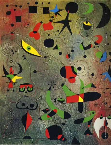 Constellation Awakening at Dawn, 1941 - Joan Miró