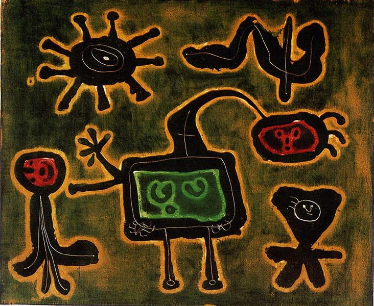 Series I, 1952 - 1953 - Joan Miro