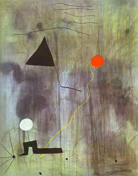 The Birth of the World, 1925 - Joan Miro