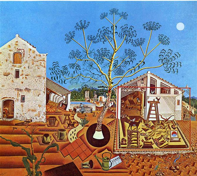 The Farm, 1921 - Joan Miró