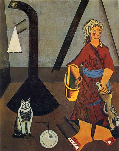 The Farmer's Wife, 1922 - 1923 - Joan Miró