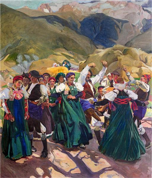 Aragón, Jota, 1914 - Joaquín Sorolla