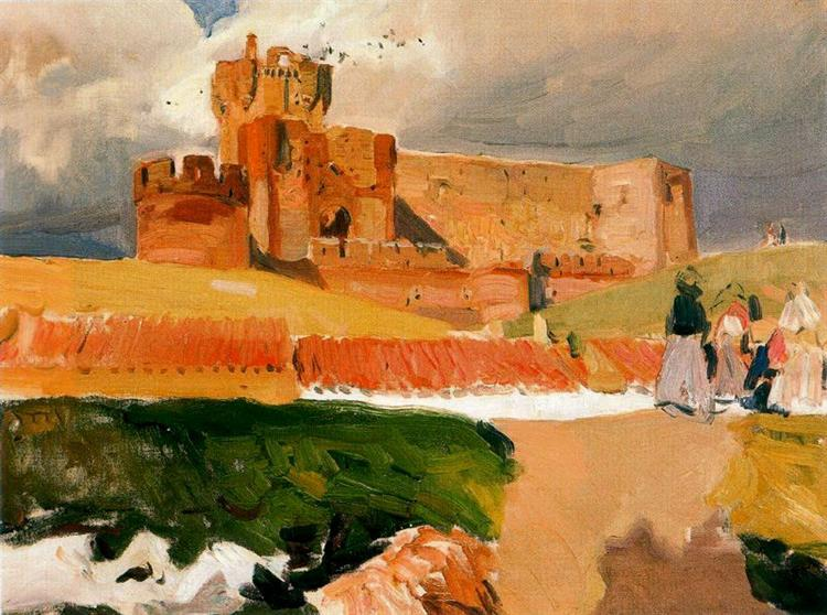 Castle of La Mota, Medina del Campo - Joaquín Sorolla