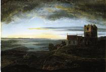 Avaldsnes church - Johan Christian Clausen Dahl