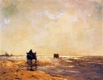 Beach view - Johan Hendrik Weissenbruch