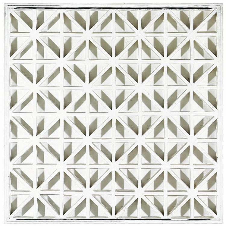 Square with Diagonals, 1967