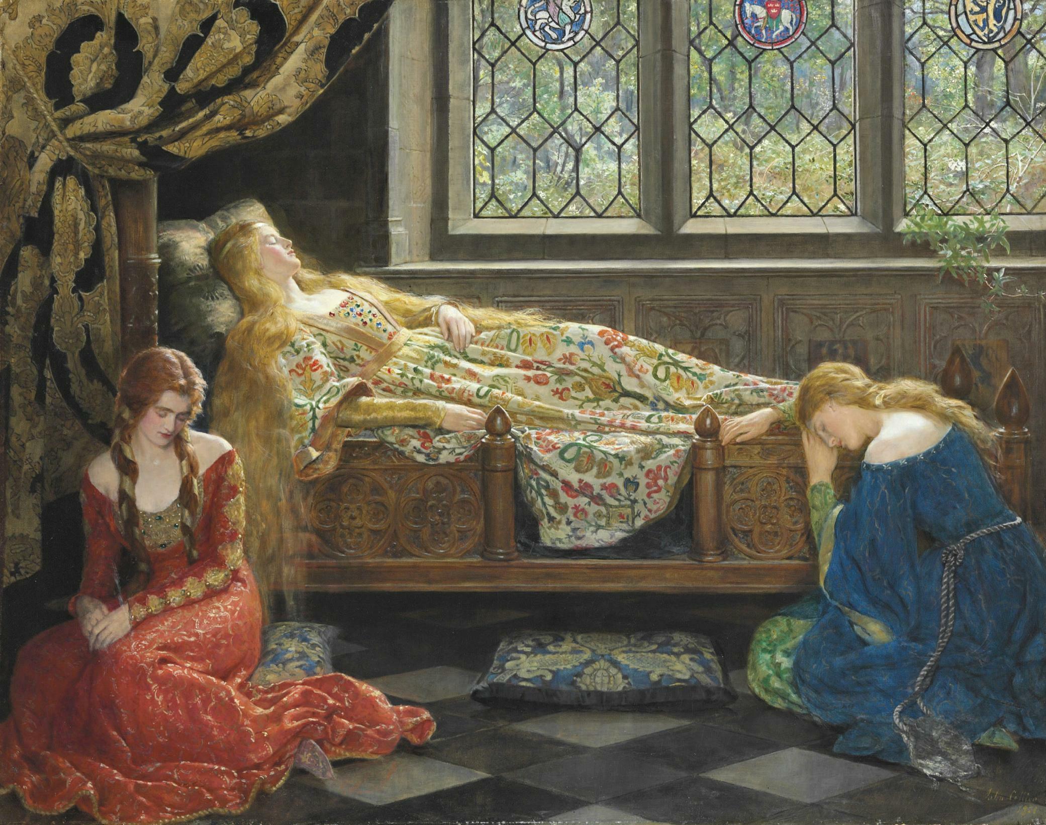 John collier sleeping beauty