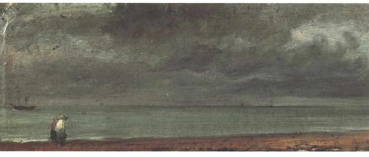 Beach in Brighton - John Constable