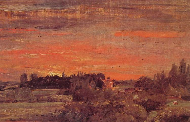 East Bergholt Rectory, 1810 - John Constable