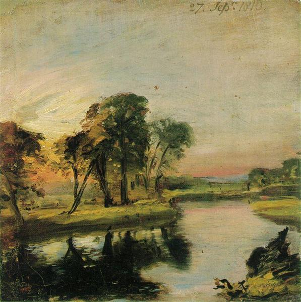 View on the Stour - John Constable