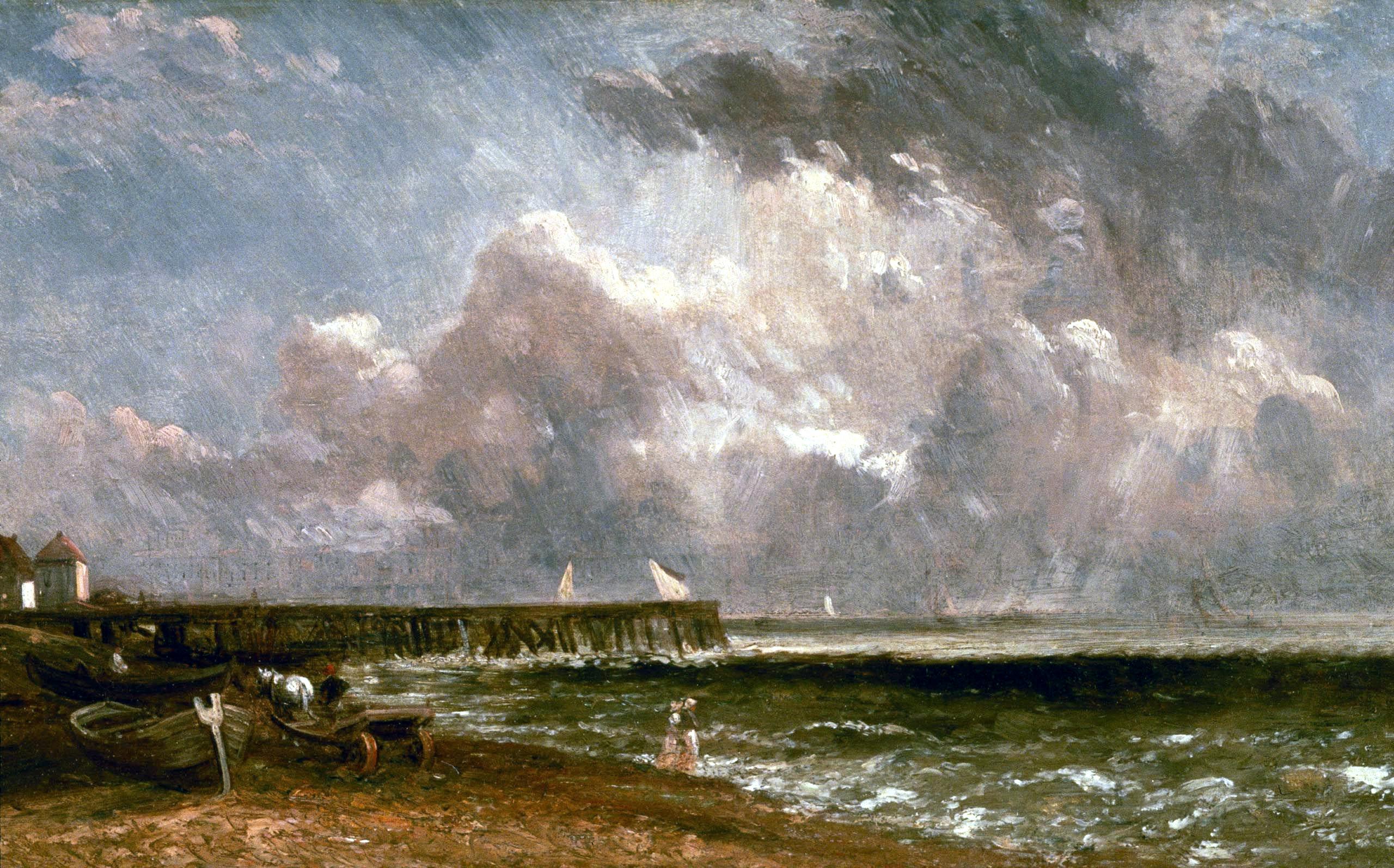 John Constable Yarmouth-pier-1822