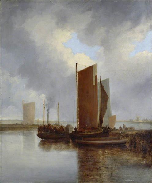 The Steam Packet, 1817 - John Crome
