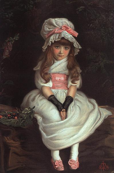 Cherry Ripe, 1879 - John Everett Millais