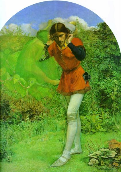 Ferdinand Lured by Ariel - John Everett Millais