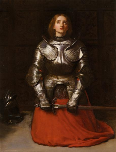 Joan of Arc - John Everett Millais