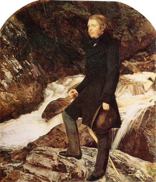 John Ruskin, 1853 - John Everett Millais