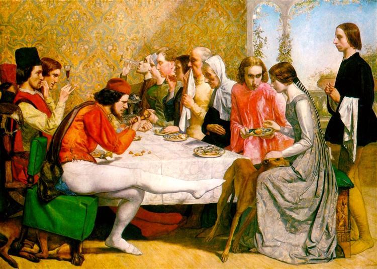 Isabella, 1848 - 1849 - John Everett Millais
