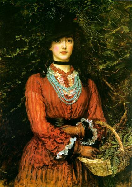 Miss Eveleen Tennant - John Everett Millais