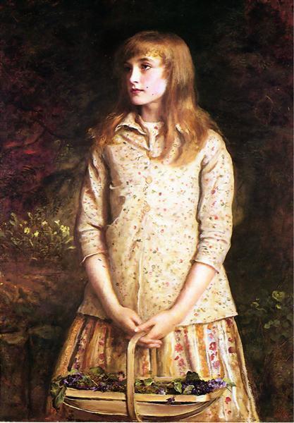 Sweetest eyes that were ever seen…, 1881 - John Everett Millais