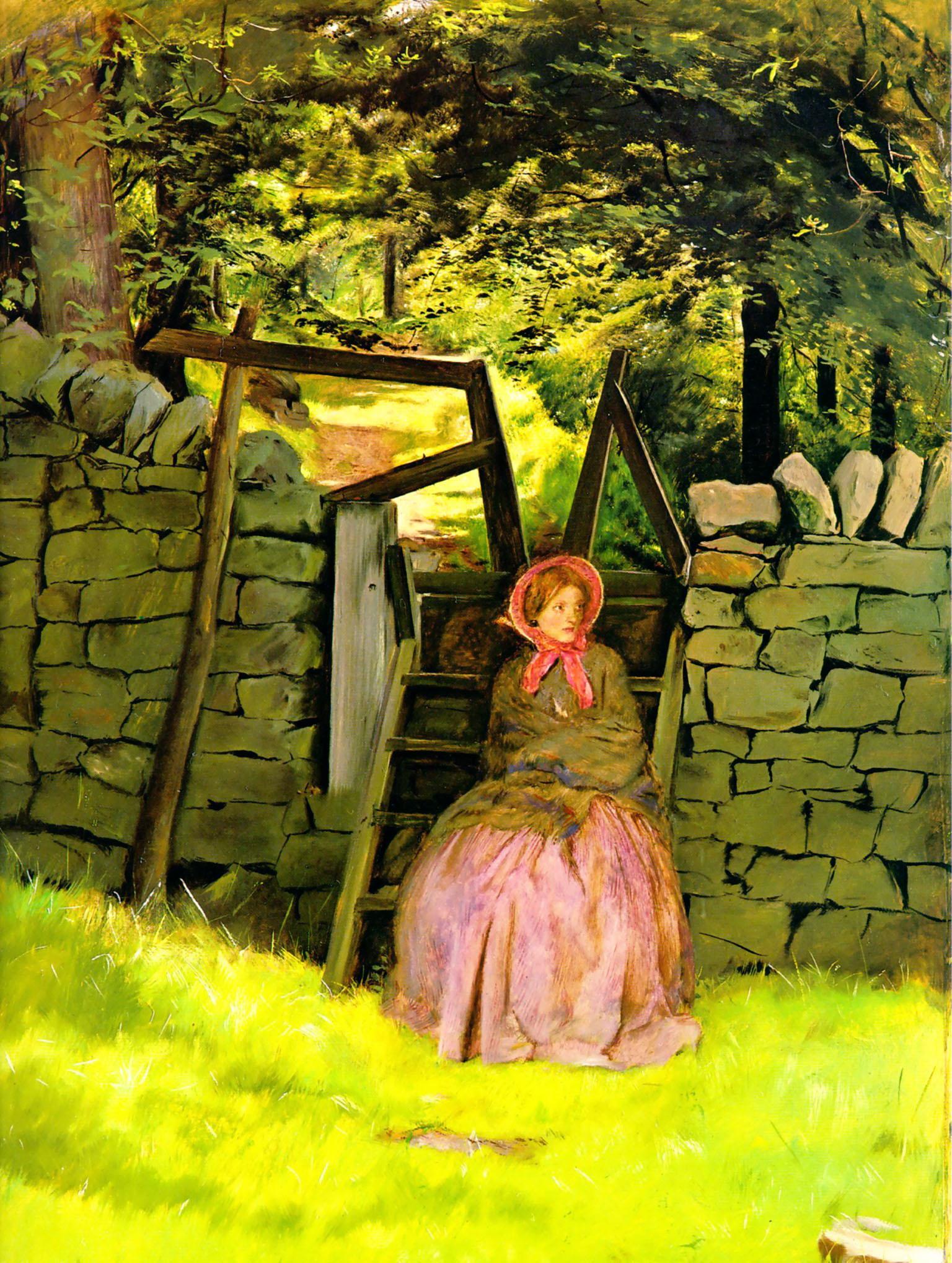 Waiting, 1854