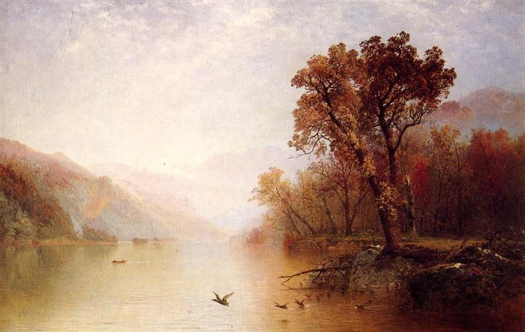 Lake George, 1869 - Джон Фредерік Кенсет