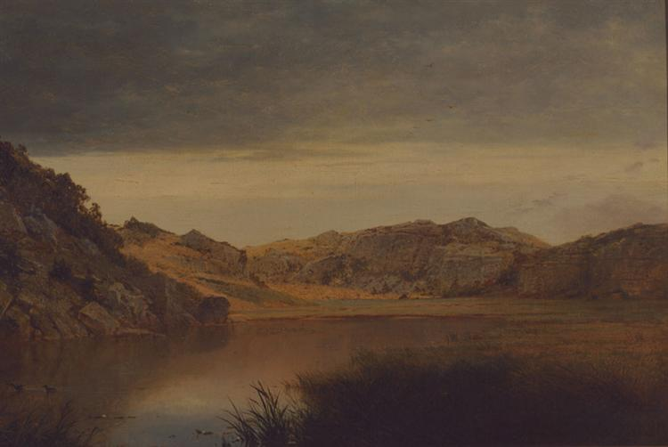 Paradise Rocks, Newport, 1865 - John Frederick Kensett