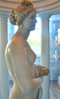 The Tinted Venus (detail) - Джон Гібсон