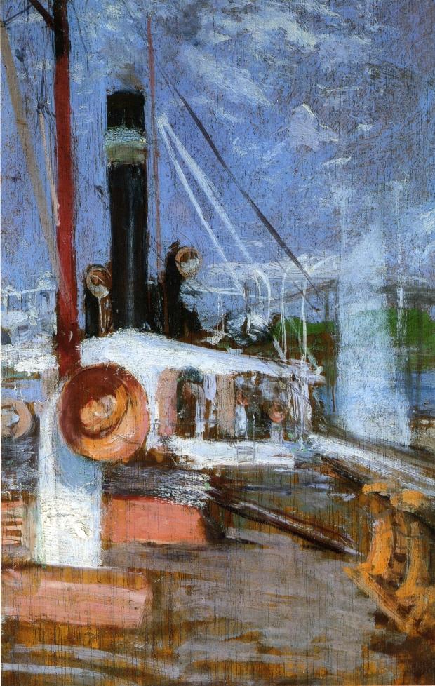 Aboard a Steamer, 1900-1902