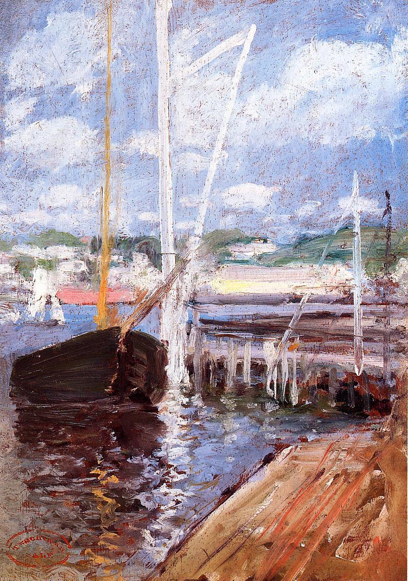 Boat Landing, 1900-1902