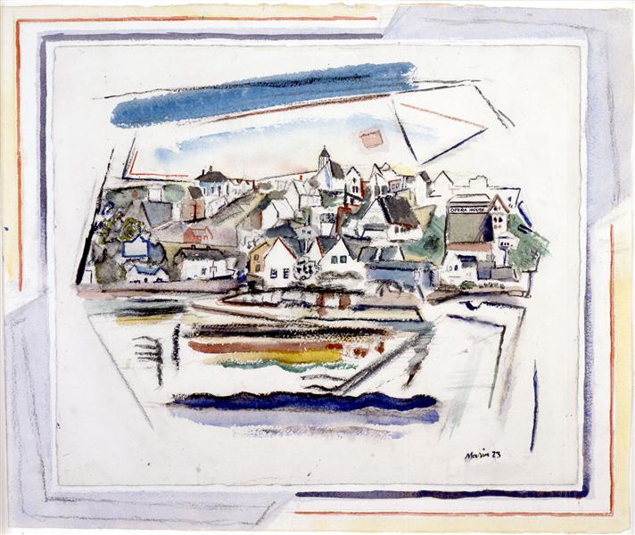 Stonington Maine, 1923 - John Marin
